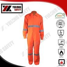 Wholesale China Manufacture EN14116 100% Cotton Fireproof Anti Static Oil Field Coverall