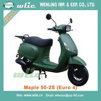 2018 New new 50cc vespa scooters naked scooter motos Maple-2S 50cc, 125cc (Euro 4)