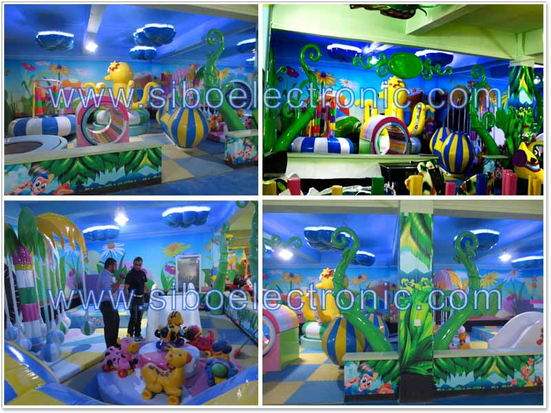 GM20160720 Colorful zone play kids indoor playground equipment kids house toys