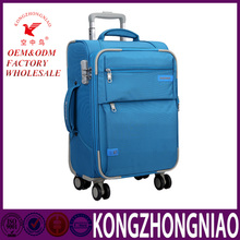 colorful fabric Laptop trolley bag luggage carry-on laptop rolling luggage case