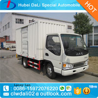 China JAC 4x2 mini van cargo truck jac light truck