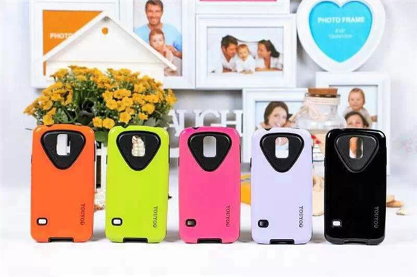 for iphone 5 case plastic case TPU+ PC Material cell phone case