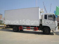 10ton used refrigerator freezer for truck with factory price from China,4x2,2axles