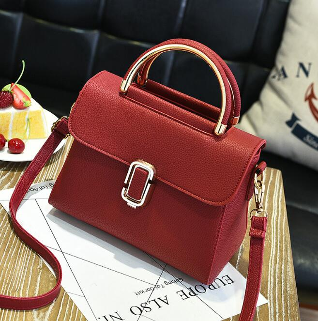 zm42680a small new fashion PU leather women lady's tote hand bag portable shoulder crossbody bag