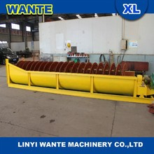 Linyi wante scew sand washing machine with good quality