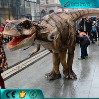 Walk with Artificial Animatronic Dinosaur Costume