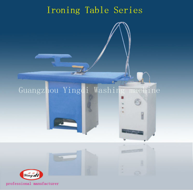 industrial ironing board machine,laundry vacuum ironing table,laundry shop equipment