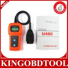 2014 New Car Diagnostic Scanner Fault Code Reader U480 CAN OBDII/EOBDII Car Diagnostic Tool Code Memo Scanner