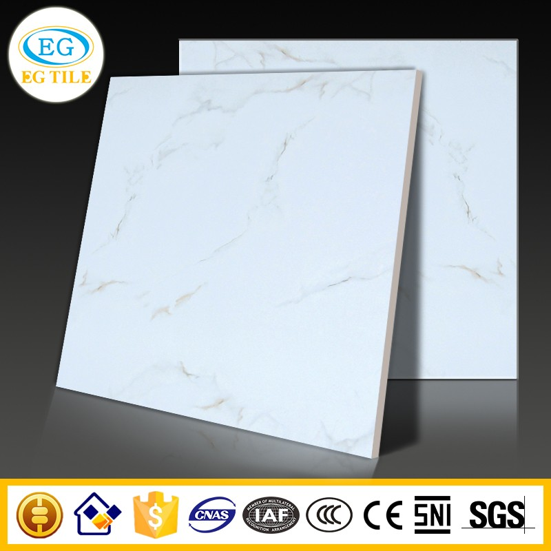 Foshan new design building material copy volakas marble random pattern verified durable antique full glaze polished tile600X600