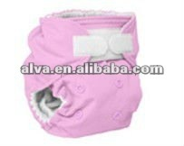 Resuable New Born Baby Cloth Diapers Alva Baby Dress Designs