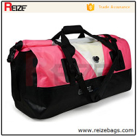 Wholesale gym duffel bag waterproof large capacity pvc tarpaulin Military Duffle Travel custom rolling duffle bag sport