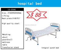 Hospital bed price used for patients manually operat the back section