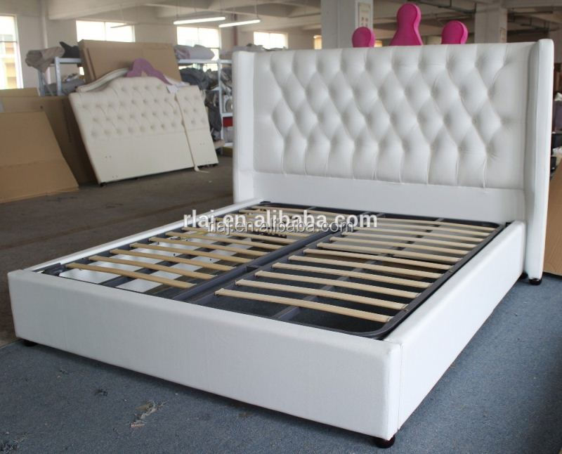 Latest wood double bed designs with box