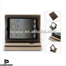 Premium PU Leather Universal Tablet Case for Tablets for iPad 2 3 4 Brown Color