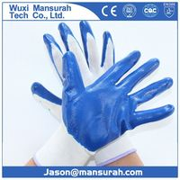 Nitrile Safety Gloves widely used in oil and petroleum refinery