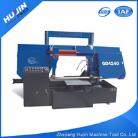 Trustworthy China Supplier Double Columns Metal Cutting Band Sawing Machine