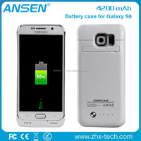 mobile cover Cell Phone Battery Charger Portable Charger Battery Back Up Case For galaxy s6
