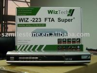 WIZTECH WIZ-223 Digital Satellite Receiver