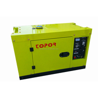 6KW Silent type 12HP Diesel Engine Powered Diesel Generator Model TP7500DGS