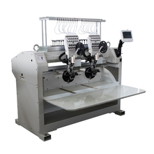 1000rpm Max. speed sequin boring device computerized high quality embroidery machine