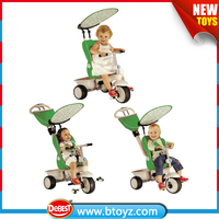 4 in 1 three wheels kids bike of multifunction for 6 months to 36 months