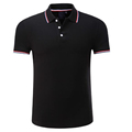 High quality short sleeve mens customized polo shirts embroidery logo wholesale china