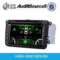 car gps dvd player for VW/Skoda car support OEM original car Canbus function