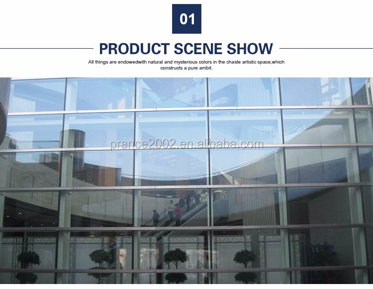 Popular Fashion glass curtain wall