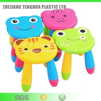 2016 Hot Selling High Quality Plastic PP Colorful Foldable Kids' Stool Baby Chair
