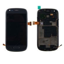 display touch screen replacement for samsung galaxy s3 mini i8190 super amoled lcd neo i9300i i9300 i9305 with frame