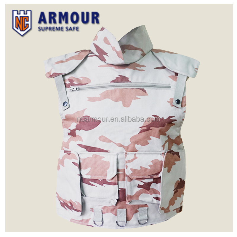 military bullet-proof body armor
