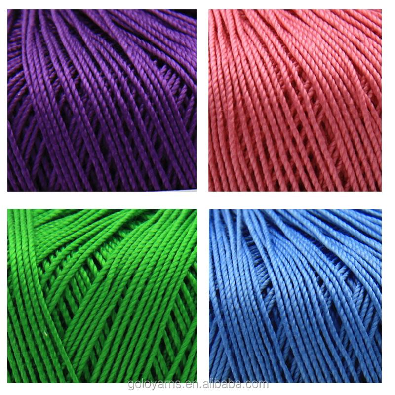 Нитки для вязания трехцветные 61