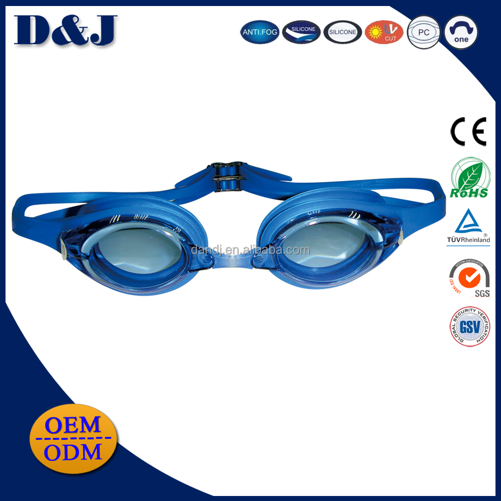 D&J manufacturers best novelty myopia swimming goggles with case