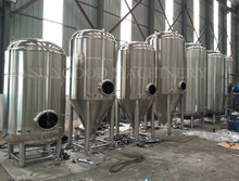 US Hot Sales 30bbl Stainless Steel conical fermenter tank jacket & insulated