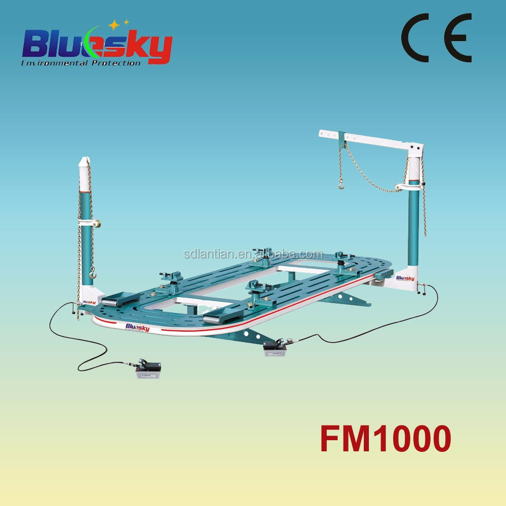 FM1000 CE approved frame machine/car pulling machine/alignment of cars auto body