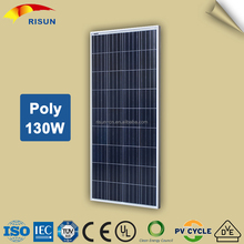 Best Selling Cheap 130W Poly Solar Panel For India Market