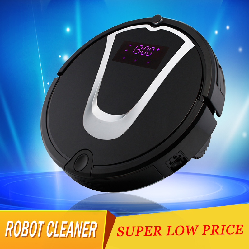 Microfiber Pad Type and Dust and Hair Cleaning Function Robot Vacuums with Dry Mop Function