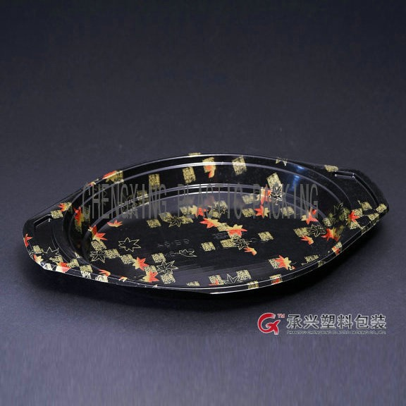 ChengXing brand hips pp disposable plastic breakfast plate