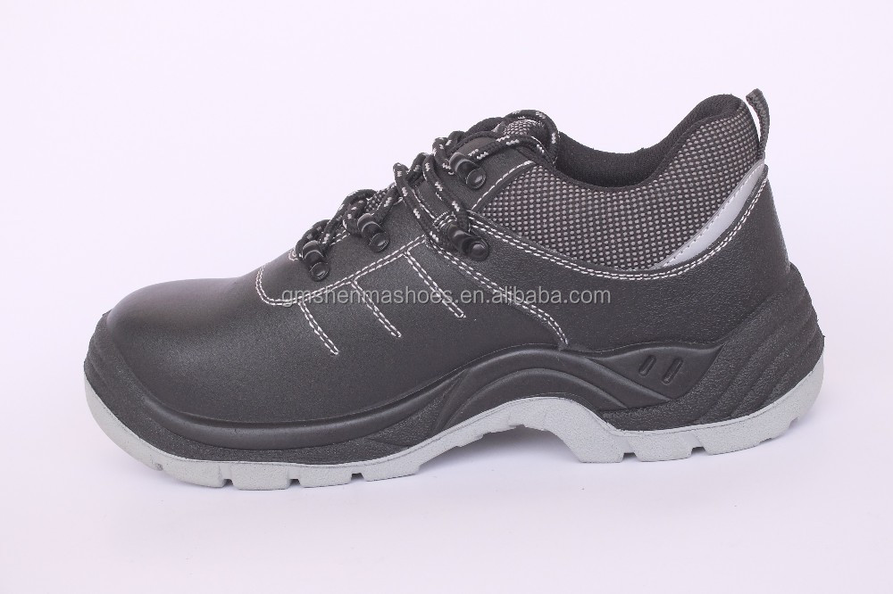 genuine leather,S3 steel toe and steel plate, pu outsole SM128 -2 working shoes for men