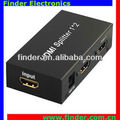 2 Port HDMI Splitter Support 3D, HDMI Splitter Box 1 input 2 outputs