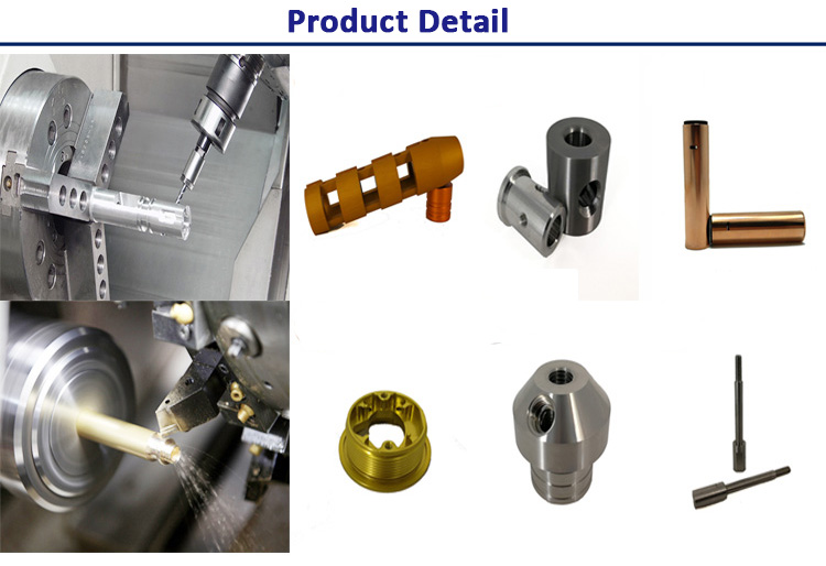 Anodized Aluminum Milling CNC Spare Parts By Drawing
