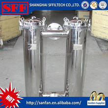 Oil filter, milk filter with low price stainless steel duplex filter housing