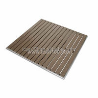 plastic wood dining outdoor garden balcony table top(pwt-108)
