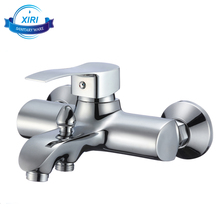 Cheap shower set mixer tap contemporary style in wall brass bath bathtub faucet China factory 3304C