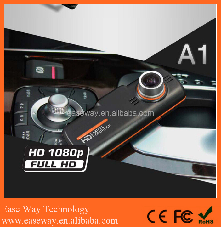 <strong>K</strong>-A1 car camera road safety guard , dual lens dash cam with GPS vehicle blackbox night vision car camera