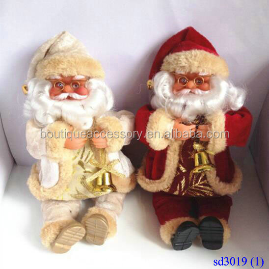 Home Furnishing Articles Santa Claus Stuffed Dolls