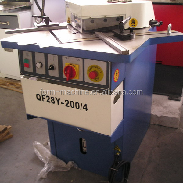Good quality hydraulic right Angle cutter for sale for sheet <strong>parts</strong>