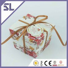 Custom Favors Candy Boxes Red Wedding Favour Box Made In China