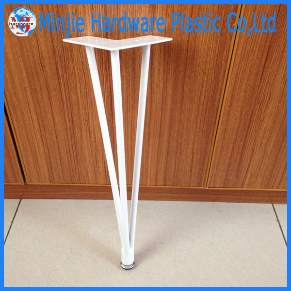 Furniture accessories table use plastic hairpin table legs for Cheap hairpin legs