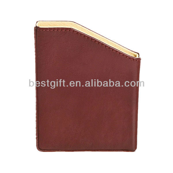 leather paper holder/ Document Holder/Desk Decoration